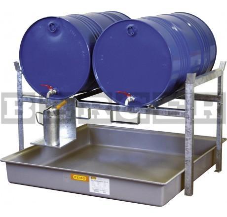 Fassregal Typ 800 für 60 oder 200 Liter Fässer und Kleingebinde