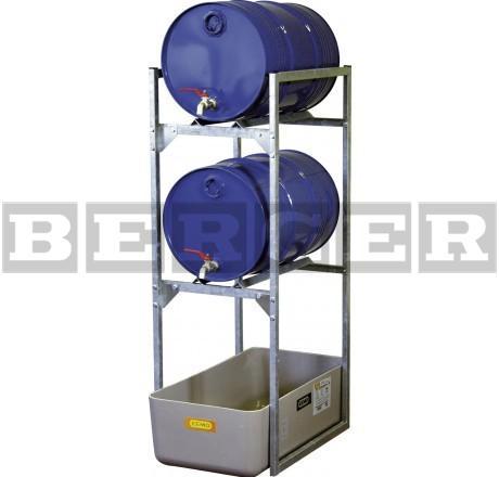 Fassregal Typ 120 für 60 Liter Fässer und Kleingebinde